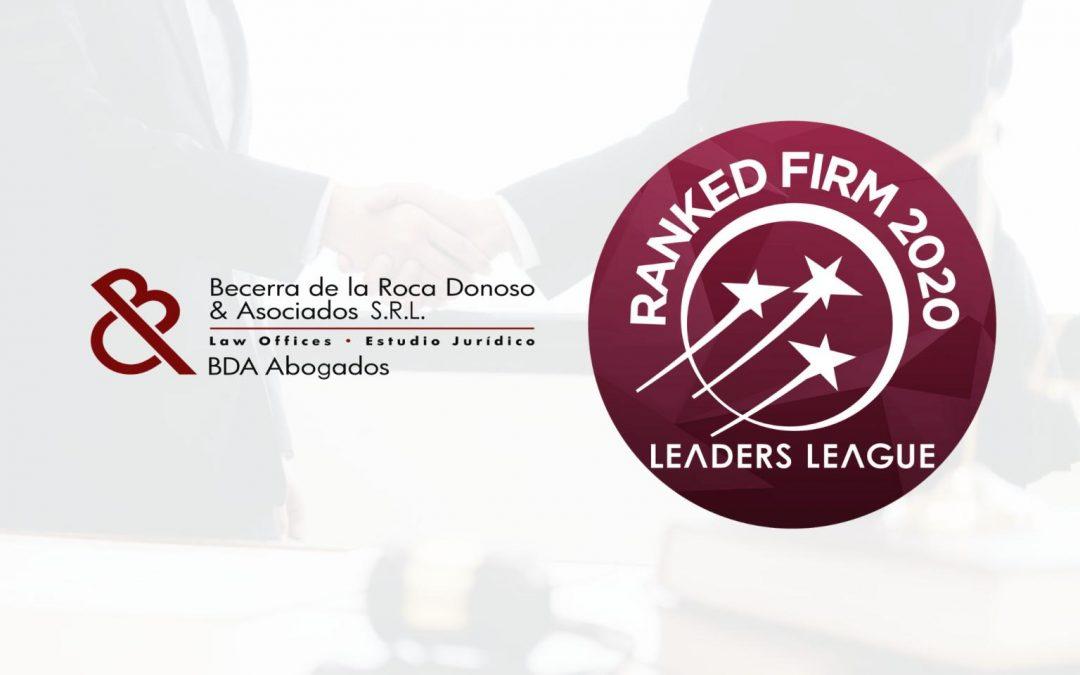 Liga de Líderes CLASIFICADA FIRMA 2020